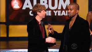 K West and Beck at Grammys