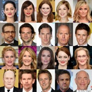 Oscar Nominees 2015 Image